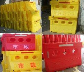 滚塑水马生产厂家(三孔1.5X0.8米规格)进口原料制作三年不易褪色