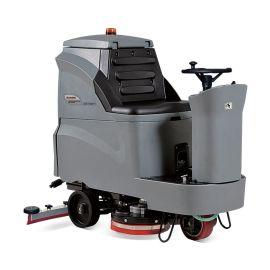 青岛驾驶式洗地机高美全自动洗地机GM110BT70洗地车