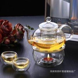 加厚耐热玻璃煮泡茶具 茶壶套装 玻璃过滤内胆功夫茶具
