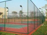 运动场隔离勾花网球场护栏网体育场围栏篮球场防护网