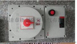 BLK52-L防爆漏电断路器/ABB元件防爆断路器