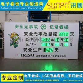 安全生产天数电子看板