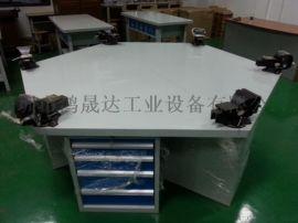 湖南榉木钳工台 重型钳工台 六角钳工台20MM