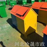 石家庄垃圾桶厂家,铁皮垃圾桶