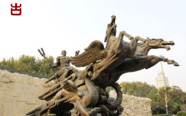 四川瑞森园林景观雕塑、GRC假山设计定制厂家