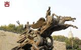 四川瑞森園林景觀雕塑、GRC假山設計定製廠家
