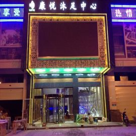惠州星级酒店大门,豪华两翼旋转门