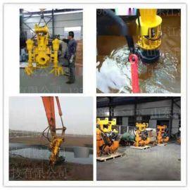 来宾挖掘机无堵塞提砂泵 桥桩施工采砂泵 勾机大扬程砂浆泵