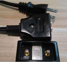 PSE日本磁性插头电源线