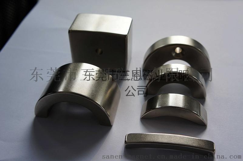 圓弧形磁鐵 異形磁鐵加工 弧形磁鐵/定製磁鐵