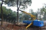吊树机 园林吊机 随车吊履带式1.5吨5米过沟过坎园林专用随车吊