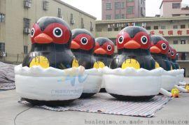 水上小玩具大黑鸭