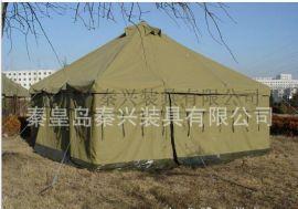 秦兴厂家**5*5纯棉大型帆布帐篷 外贸帐野营篷 可定制