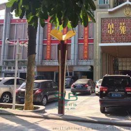 景观灯定制广场步行街方形柱灯园林防水道路景观灯柱中式庭院灯厂家批发