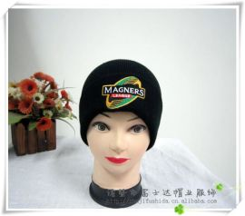 厂家直供冬季男士帽子针织帽 可批发定做毛线帽子浙江帽子工厂
