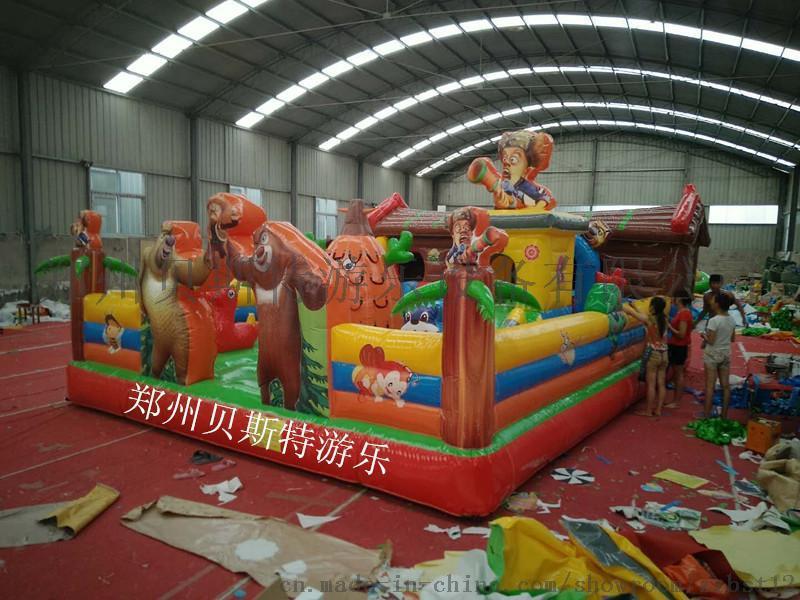 河南安陽林州市充氣城堡充氣蹦蹦牀價錢優惠質量最優