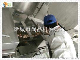 鸡排上浆裹粉油炸生产线@鸡排成型生产线