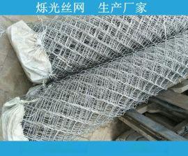 浸塑铁丝网 供应护坡勾花网 菱形网 活络网生产厂家