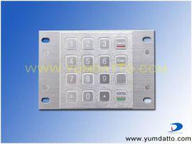 金属加密键盘(YD25G2-16GSM)