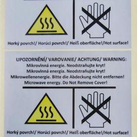 【量大从优】厂家低价不干胶 电源电子标签各种规格不干胶标签
