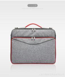 上海定制电脑包 大容量多功能单肩背 箱包工厂批发来图打样