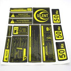 透明贴纸/不干胶标签/彩印贴纸条形/食品不干胶标签