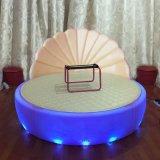 轩爱家具 LED贝壳发光床 情趣电动床 多功能水床 主题酒店床