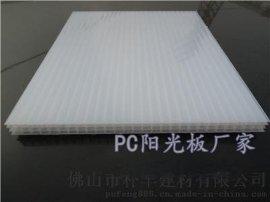 20mm四層透明陽光板