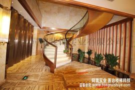 酒店旋转钢架楼梯 厂家定制