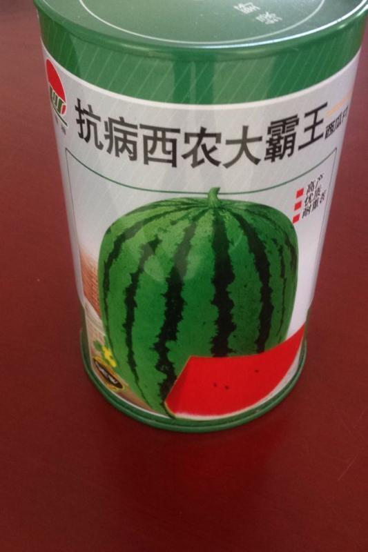 供应抗病西农大霸王铁罐 种子包装盒专业定制