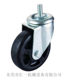 中型丝杆耐温轮  4寸耐高温丝杆万向轮