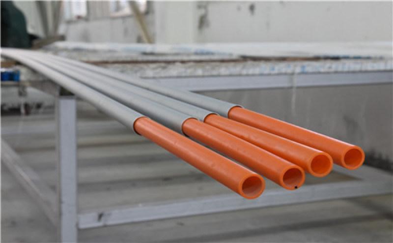 寧夏銀川 鋁合金襯塑PE複合管(燃氣專用)
