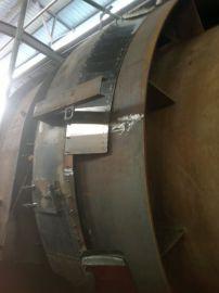水泥回转窑窑头密封 碳硅镍复合板
