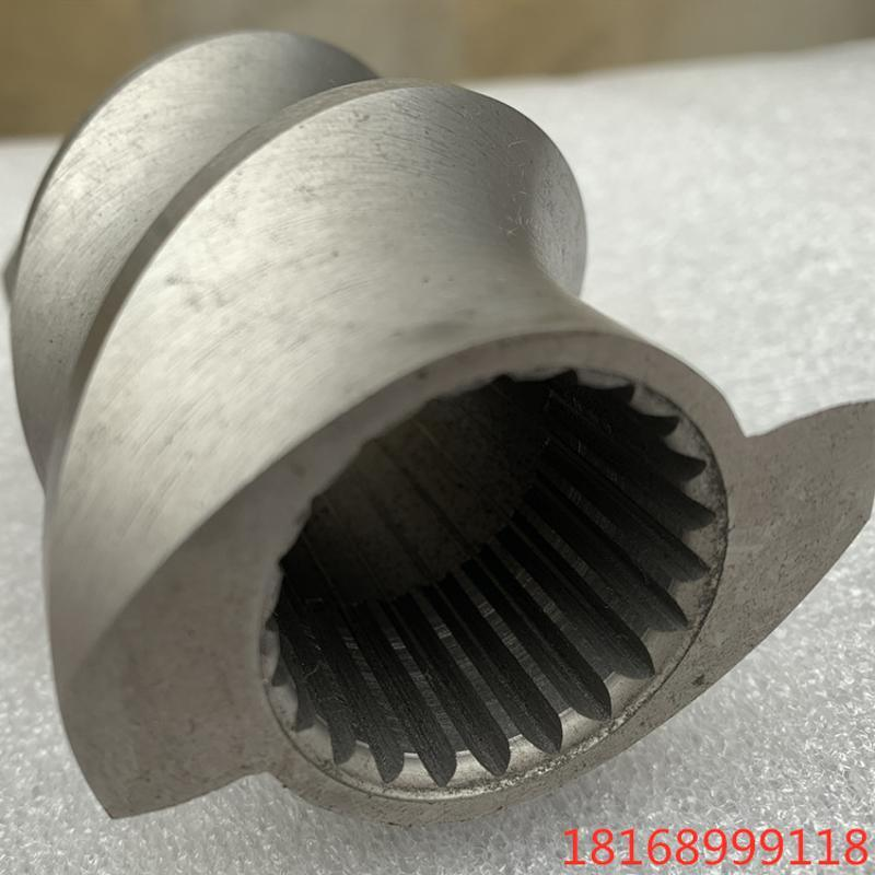 DCP铰链剂母粒,平双造粒机螺杆元件,螺套加工