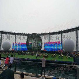 中润光电携led透明屏亮相上海国际照明展