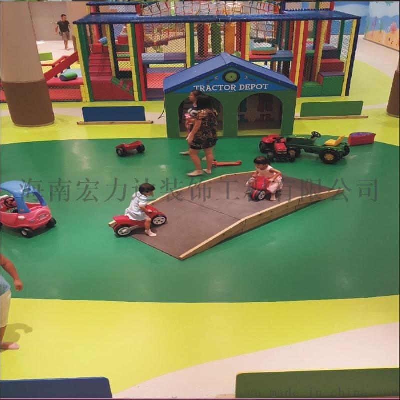 聚氯乙烯建造材料,地坪,海南宏利達專業施工