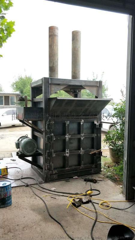 120吨双缸立式液压废纸箱、塑料打包