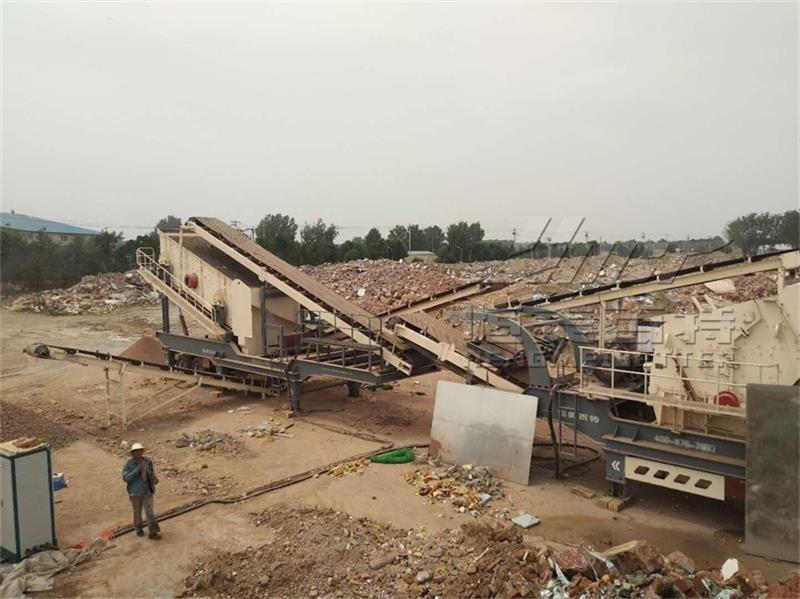 山东反击式移动破碎机 移动碎石机厂家 恒美百特