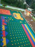 甘肃悬浮地板甘肃拼装地板甘肃篮球场悬浮拼装地板厂家