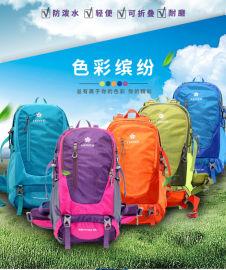 户外多功能徒步旅行双肩大容量背包