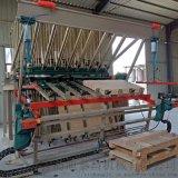 气动拼板机 旋转式合板机