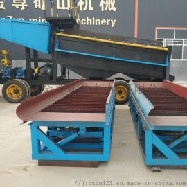 旱沙金提取设备现货 河道选金机械照片 出口选金设备
