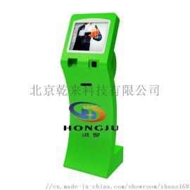 17/19/22寸触控自助排队一体机电脑刷IC/ID卡打印触摸屏查询机