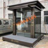 玻璃钢结构艺术站岗台岗亭  艺术站岗亭