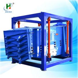 碳酸钠多层方形摇摆筛,橡胶粉方形摇摆振动筛分机