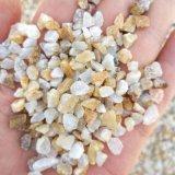 本格供应酸洗石英砂 水处理滤料 石英砂滤料