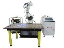 全自动1000W机器人门锁激光焊接机