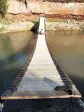專業定製網紅水上搖擺橋抖音同款搖擺橋安裝搖擺橋