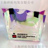 上海 射幻彩PVC袋化妝袋包裝袋手提袋禮品袋酒袋