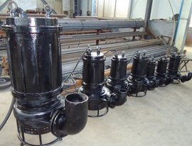 潜水清淤泵,河道抽泥泵,污泥泵选型
